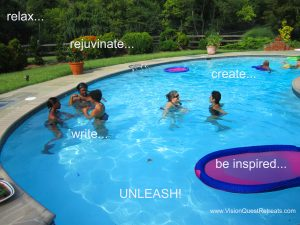 Mini Writers Retreat Summer 2016 poster